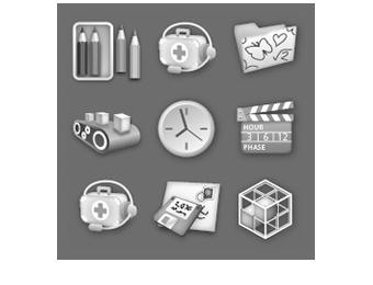 Applikationssymbole